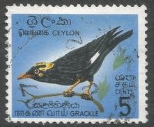 Ceylon. 1964-72 Definitives. 5c Used. SG 485 - Sri Lanka (Ceylon) (1948-...)