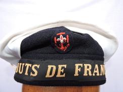 RARE ANCIEN BACHI SCOUTS DE FRANCE MARINE  Daté 1979 - Scoutisme