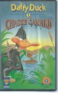 "VHS  DAFFY DUCK "" LA CHASSE AU CANARD "" - Dessins Animés"