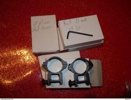 Lot De 5 Boites De Colliers Pour Lunette - Sammlerwaffen