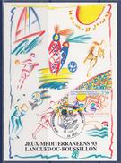 = Jeux Méditerranéens 1993 Languedoc-Roussillon Carte Postale 34 Agde 16.6.93 N°2795 - 1990-99