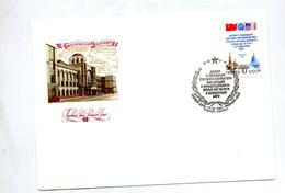 Lettre Cachet ? 1987  Batiment - Machine Stamps (ATM)