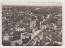 49 - LONGUE / VUE AERIENNE SUR L'EGLISE - Autres Communes