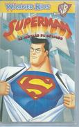 "VHS  SUPERMAN  "" LE MOTARD DU COSMOS "" - Dessins Animés"