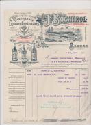 (ARDECHE ) SARRAS , Distillerie De Liqueurs , L J   BOSCHIROL - Food