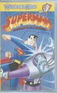 """VHS  SUPERMAN  """" PROGRAMME POUR DETRUIRE """" - Dessins Animés"""