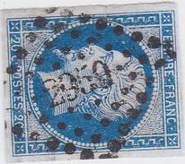 N° 14 A  -  PC  2950   STRASBOURG   /   BAS-RHIN   - LOT 12118 +VARIETE - 1853-1860 Napoleon III