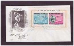 HAITI  - 1960    FDC   FDC OLIMPIADI ROMA