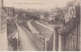 PARIS : LE PASSAGE DE LA STATION DE MENILMONTANT . - Arrondissement: 20