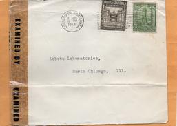 Guatemala 1943 Censored Cover Mailed - Guatemala