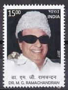 INDIA, 2017, M G Ramachandran, Actor, Politician, MNH, (**)