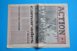 EVENEMENTS MAI 1968 - ACTION N° 3 Du 21 MAI 1968 (document Original) - Historische Dokumente