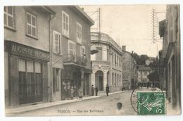 38 - Isère - Voiron Auguste Regnier Devanture Rue Des Terreaux 1908 - Voiron