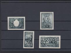Romania Lot Essays 1928 (5) - Ensayos & Reimpresiones