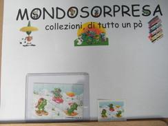 MONDOSORPRESA - PUZZLE FERRERO ITALIA, RANOPLA - Ranoplà, SETTORE A + CARTINA - Puzzles
