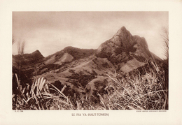 VIET NAM, LE PIA YA (HAUT-TONKIN), Planche Densité = 200g, Format 20 X 29 Cm, (Service Géologique Indochine) - Géographie