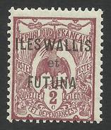 Wallis And Futuna, 2 C. 1920, Sc # 2, MH - Unused Stamps