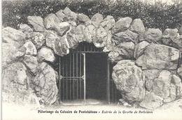 PELERINAGE DU CALVAIRE DE PONTCHATEAU .ENTREE DE LA GROTTE DE BETHLEEM . NON ECRITE - Pontchâteau