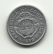 1989 - Costa Rica 25 Centimos, - Costa Rica