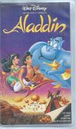 """VHS / K7 Vidéo  """" ALADIN """"   WALT DISNEY - Dessins Animés"""