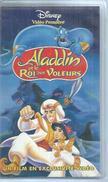 """VHS / K7 Vidéo  """" ALADIN ET LE ROI DES VOLEURS """"   WALT DISNEY - Dessins Animés"""