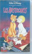 """VHS / K7 Vidéo  """" LES ARISTOCHATS """"   WALT DISNEY - Dessins Animés"""