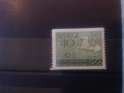 Sweden 1956 Olympic Games 40o Mint SG 375