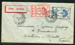 France / Madagascar - Cover / Enveloppe De Soavinandriana Pour Morteau En 1945 , Affr. France Libre  Ref F78 - Storia Postale