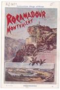 Image Publicité Collection HUGO D'ALESI Rocamadour Et Montvalent Chemin De Fer D'Orléans - Non Classés