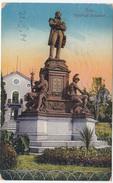 Pola Pula Tegethoff-Monument Old Postcard Travelled 1914 B170203 - Kroatien