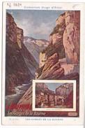Image Publicité Collection HUGO D'ALESI Le Dauphiné / Les Gorges De La Bourne - Vieux Papiers