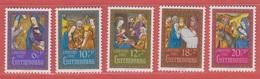 1987 ** (sans Charn., MNH, Postfrisch) Yv. 1135/9  Mi. 1185/9 - Luxembourg