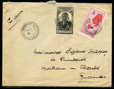 France / Madagascar - Cover / Oblitération De Tananarive Analakely Sur Enveloppe Pour Morteau En 1946  Ref F87 - Madagascar (1889-1960)
