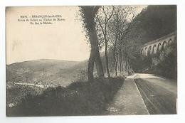 25 Besancon Route De Suisse Au Viaduc De Morre En Bas La Malate Animée - Besancon