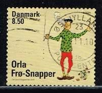 Dänemark 2010, Michel# 1597 BA O     Europa (C.E.P.T.) 2010 - Children's Books