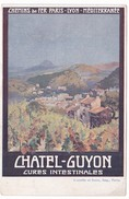 CPA Chemins De Fer PLM CHATEL-GUYON Cures Intestinales - Châtel-Guyon