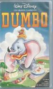 """VHS / K7 Vidéo  """"  DUMBO """"  WALT DISNEY - Dessins Animés"""