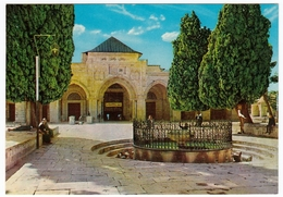 MOSQUE OF AKSA - MOSQUEE D'ASKA - MOSCHEA DI AKSA - MOSCHEE VON AKSA - 1968 - Vedi Retro - Palestina