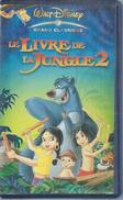 "VHS / K7 Vidéo  ""  LE LIVRE DE LA JUNGLE - 2 ""  WALT DISNEY - Dessins Animés"