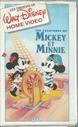 "VHS / K7 Vidéo  ""  LES AVENTURES DE MICKEY ET MINNIE ""  WALT DISNEY - Dessins Animés"