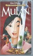 """VHS / K7 Vidéo  """"  MULAN """"  WALT DISNEY - Dessins Animés"""