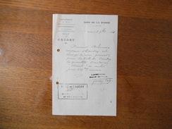 CAUDRY NORD NOTE DE LA MAIRIE L'AGENT VOYER DU 3 7bre 1925 - Historische Dokumente