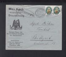 Dt. Reich Brief 1929 MeF Kochil-Fleisch-Extrakte Frankfurt Am Main - Deutschland
