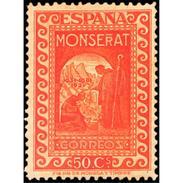 ES644STV-LTV***644STAN.Spain.Esgane.AVION,UNION POSTAL PANAMERICANA.Calle Alcala.Aereo 1931 (Ed 644**) - Nuevos