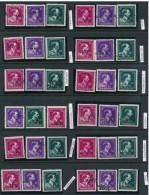 724N/P 10 Burelen Antwerpen - Kempen - Meeste Lichte Scharnier / Sommige Postfris - 1946 -10%