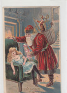 Joyeux Noel Mit Santa Claus - Prägelitho - 1911    (PA-11-130614) - Santa Claus