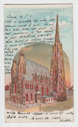 WIEN / STEFANSDORN. - TRANSPARENT POSTKARTE Verlag Ed. ARENZ - Stephansplatz