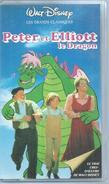 """VHS / K7 Vidéo  """"  PETER ET ELLIOTT LE DRAGON  """"  WALT DISNEY - Dessins Animés"""