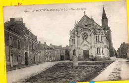 SAINT-MARTIN-du-BOIS-place De L'eglise - Francia