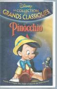 "VHS / K7 Vidéo  ""  PINOCCHIO  ""  WALT DISNEY - Dessins Animés"